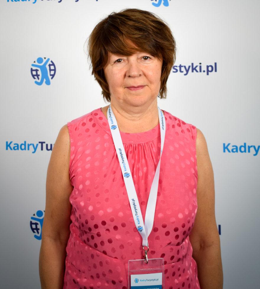 Barbara Komorowska Kadry Turystyki